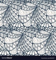 Zentangle Pattern Interesting Decorating Design