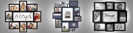 modern style collage frames