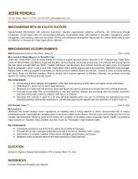 Best Solutions of Merchandising Resume Samples With Additional Download  Resume