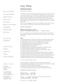 Medical Device Resume Medical Device Sales Resume Resumes Template ...