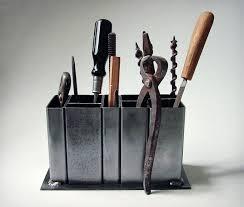 steel desk organizer