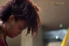 curly natural hair