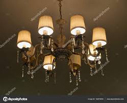 Classical Luxury Retro Style Chandelier Stock Photo