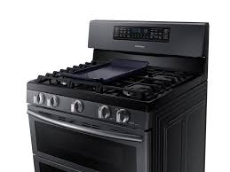 gas stove clipart black and white. flex duo™ with dual door freestanding gas range stove clipart black and white