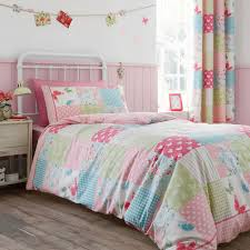catherine lansfield canterbury patchwork duvet cover set