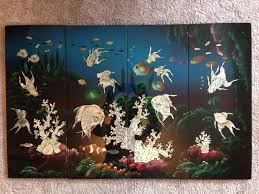 used vietnamese wooden wall art mother of pearl in b90 shirley for 40 00 shpock on vietnamese wall art mother of pearl with used vietnamese wooden wall art mother of pearl in b90 shirley for