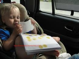 Car Activities for Toddlers | There's Just One Mommy