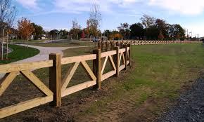 wood farm fence. Custom Wood Farm Fence Around Park Pinterest