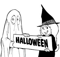 Kleurplaten Kinderpleinen Halloween Pompoenen Kleurplaten