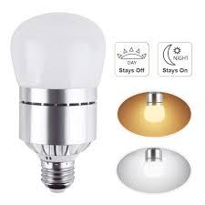 Arilux E27 12w Dusk To Dawn Automatic On Off Led Sensor Light Bulb For Yard Porch Patio Ac85 265v