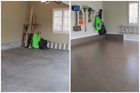 garage floor paint before and after. Brilliant After Columbus Garage Floor Coating Residential Before U0026 After Inside Paint And
