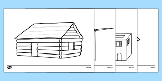 Small Picture Homes Around the World Colouring Sheets house home building