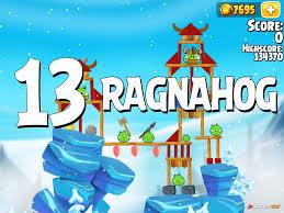 Angry Birds Seasons Ragnahog Level 1-13 Walkthrough