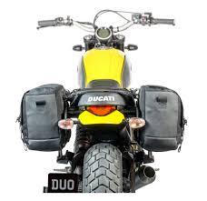 kriega duo saddlebag platform for ducati scrambler cycle gear