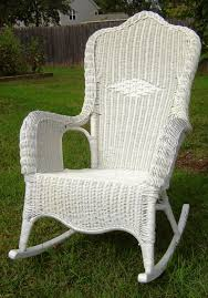 astonishing chair deck rocking outside image for rattan style and monet indoor inspiration rattan rocking chair