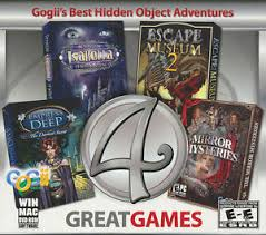 Hidden object games on freegames66. 4 Great Games Gojii S Best Hidden Object Adventure Pc Windows Mac Games New 892935001883 Ebay