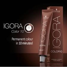 Schwarzkopf 10 Minute Hair Color Chart Igora Color10 Permanent 10 Minute Color Creme In 2019 Hair