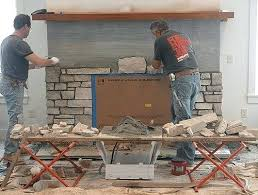 building a stone fireplace stone fireplace building faux stone fireplace