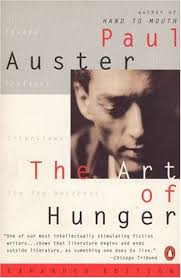 the art of hunger essays prefaces interviews the red notebook  470