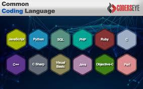 Basic Coding Language Common Programming Languages Coders Eye