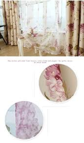 Living Room Curtain Fabric Printed Blackout Curtain Fabric Polyester Modern Window Treatments