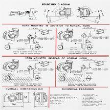 buy generic 12v 139db black electric pump air loud horn speaker image image
