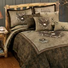 nice deer bedding sets 10 rustic comforter set ecrins lodge regarding king design 17