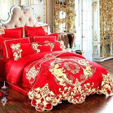 dragon comforter dragon bedding set luxury gold dragon embroidery jacquard bedding sets red duvet cover bed sheet pillowcases dragon comforter set twin
