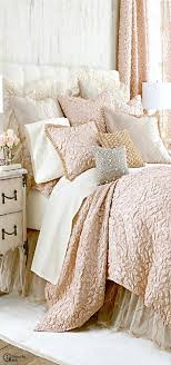 beautiful bedroomlove black white tan. love this bed pretty pastels bedroom the texture of cover beautiful bedroomlove black white tan