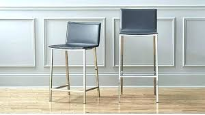 backless leather bar stools counter stool kitchen grey design exciting