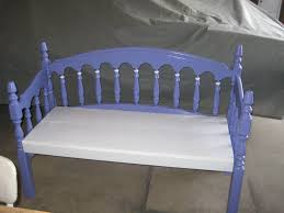 Bench Out Of Headboard Bed Frame Made Into A Bench For G Ma Sharon 0001wmv Youtube