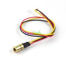8X13mm <b>980nm 30mW Infrared IR</b> DOT Laser Diode Module TTL ...