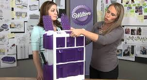 Cake Decorating Storage Box Wilton's Ultimate Rolling Tool Caddy YouTube 20