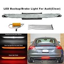 Audi Tt High Level Brake Light Clear Lens Led Rear Fog Brake Reverse Light For 2007 2013