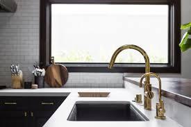 Polished Brass Kitchen Faucet Kitchen Brass Kitchen Faucet With Single Hole Kitchen Faucet