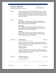 85 Free Resume Templates Free Resume Template Downloads Free