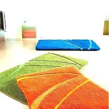 burnt orange bathroom rug chic and creative bath set best sign interior sets 3 piece white