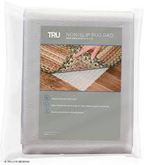 tru lite rug gripper non slip rug pad for hardwood floors non skid washable furniture pad lock area rugs mats carpets furniture in place trim to