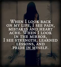 Look In The Mirror Quotes Awesome When I Look In The Mirror I See Strength Quote