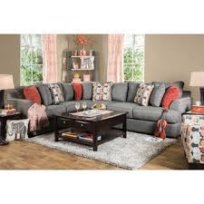 l shape furniture. Furniture Of America Posille Contemporary Grey Fabric L-Shaped Sectional L Shape