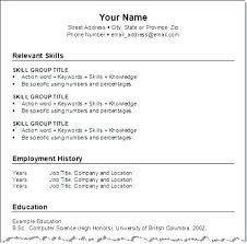 Resume Format For Job Awesome Format Of A Resume Resume For Job Format Job Format Resume Images Of