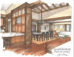 interior design hand drawings. Drawn Office Interior Space #4 Design Hand Drawings B