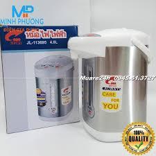 Bình thủy điện bình nước nóng Thái Lan Jiplai 4 lít Bảo Hành 12Tháng: Mua  bán trực tuyến Bình thủy điện với giá rẻ