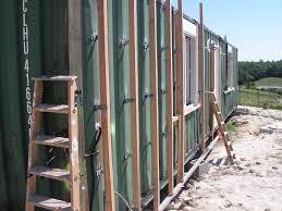 Ossature Bois Pour Accueillir Le Bardage Maison Bbc Container