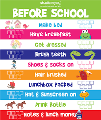 Checklist For School How To Get Into The School Routine Stuck On You
