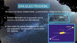 Resultado de imagen de La fuerza electrodébil