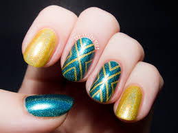 Converging Chevrons: A Holographic Tape Manicure   Chalkboard ...
