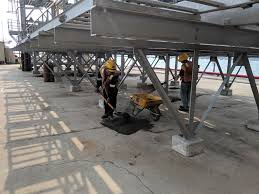 Coal Belt Conveyor Design Sweeping And Remove Scattered Spillage Dust Coal On The