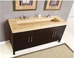 bathroom double sink cabinets. Wonderful Sink Silkroad Exclusive Travertine Top 83 Inch Double Sink Vanity Bathroom  Vanities For Cabinets A