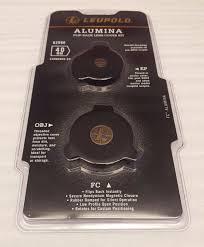 Leupold Alumina Flip Back Rifle Scope Lens Cover Kit 40mm